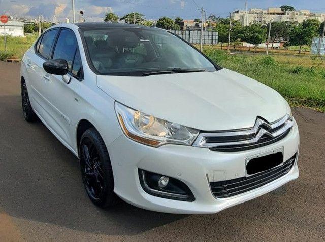 C4 lounge exclusive 2014 1.6 turbo gasolina automático