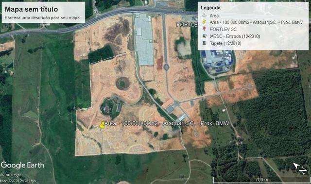 Área industrial 100.000 m²