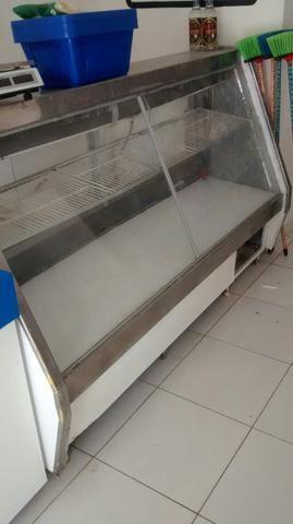 Balcao espositor refrigerado