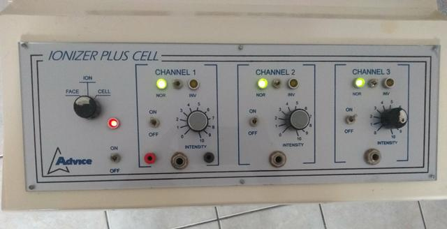 Ionizer plus cell estética