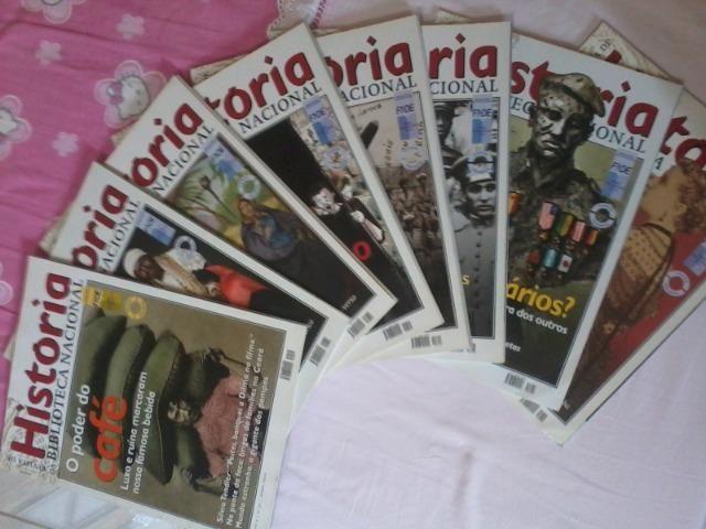 Revistas de História da Biblioteca Nacional, Lote com 8 revistas