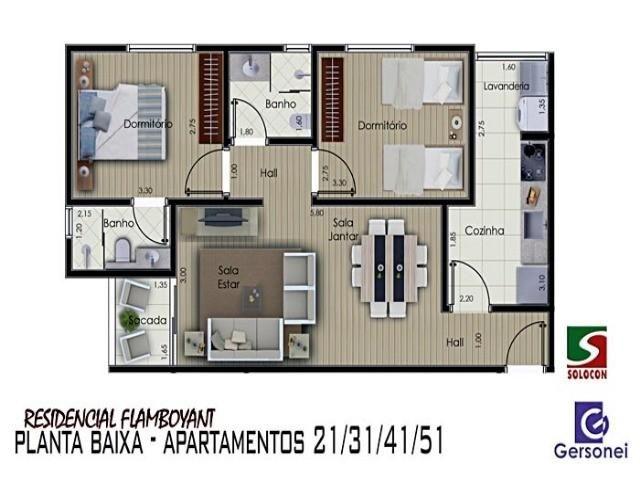 Apartamento à venda com 03 dormitórios em Nucleo agricola alpha, Franca cod:4612