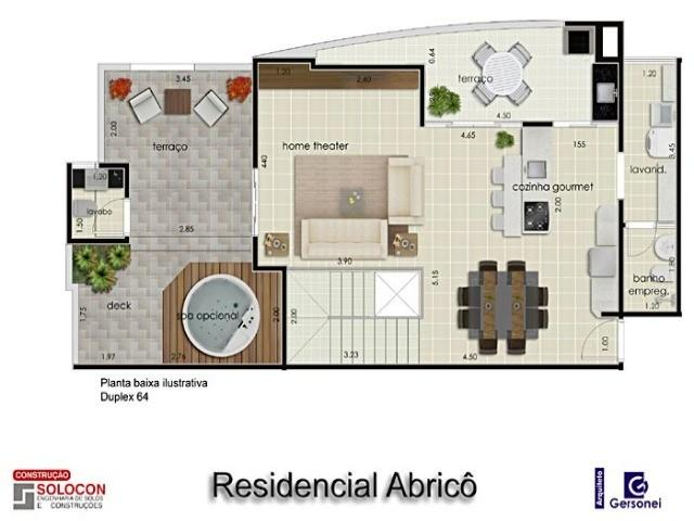 Apartamento à venda com 03 dormitórios em Residencial amazonas, Franca cod:4633 - Foto 2