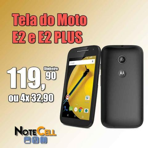 Tela do Moto E2 - Display LCD