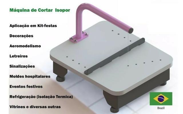 Cortador isopor eletrico - maquina festas artezanatos - Foto 6