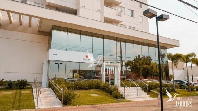 Apartamento com 3 dormitórios para alugar, 70 m² por r$ 1.400,00/mês - centro - londrina/p - Foto 14