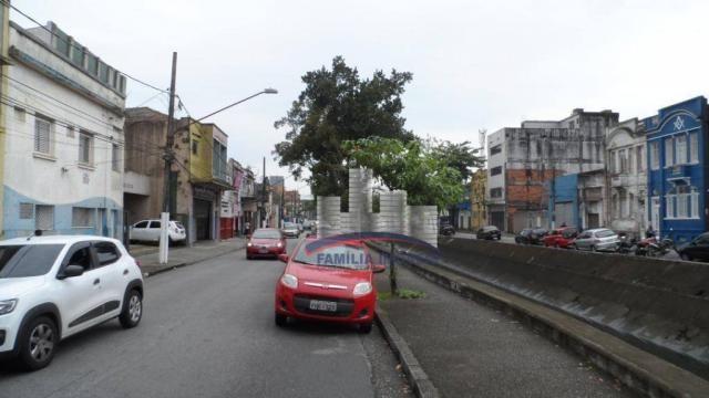 Terreno à venda, 420 m² por R$ 750.000,00 - Vila Matias - Santos/SP - Foto 6