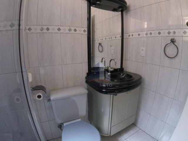 Apartamento com 2 dormitórios para alugar, 52 m² por r$ 1.350/mês - parque são vicente - m - Foto 17