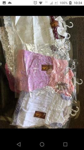 Lote de roupas novas, infantil menina $250 - Foto 3