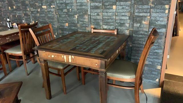 Mesas madeira demolição - Foto 4