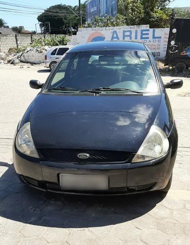 Ford Ka Preto 2007/2008