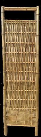 Biombo de bambu - Foto 4