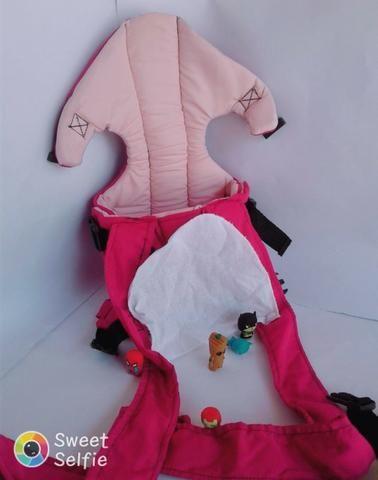 Mamãe Canguru Pink Misto Lindo Gracinha Beybe - Foto 3