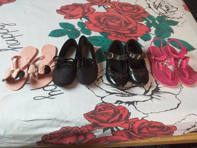 Sapatinhos e sandalinhas