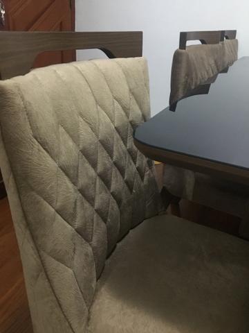 Conjunto sala de jantar/mesa e cadeiras - Foto 6