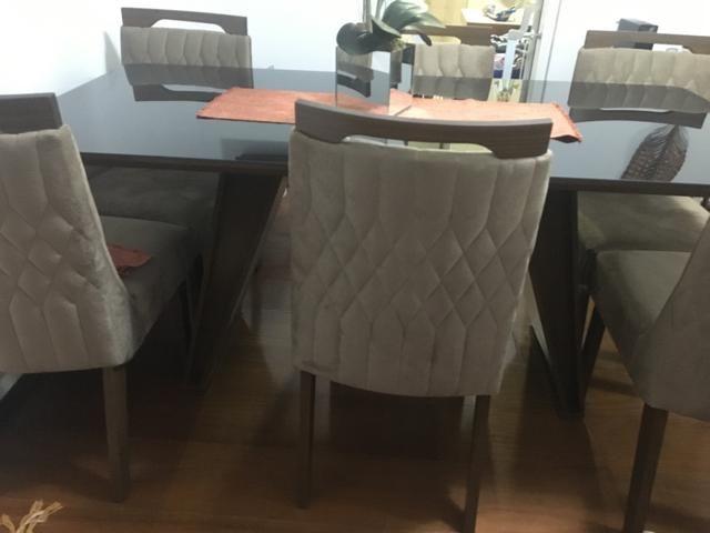 Conjunto sala de jantar/mesa e cadeiras - Foto 5