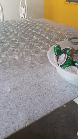 Pote de vidro de Papinha