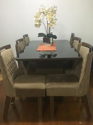 Conjunto sala de jantar/mesa e cadeiras - Foto 2