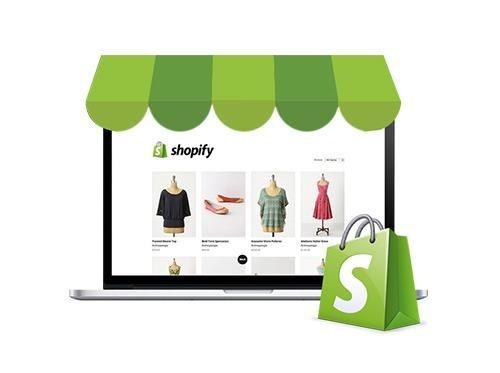 Criação de Loja Virtual Completa em Shopify