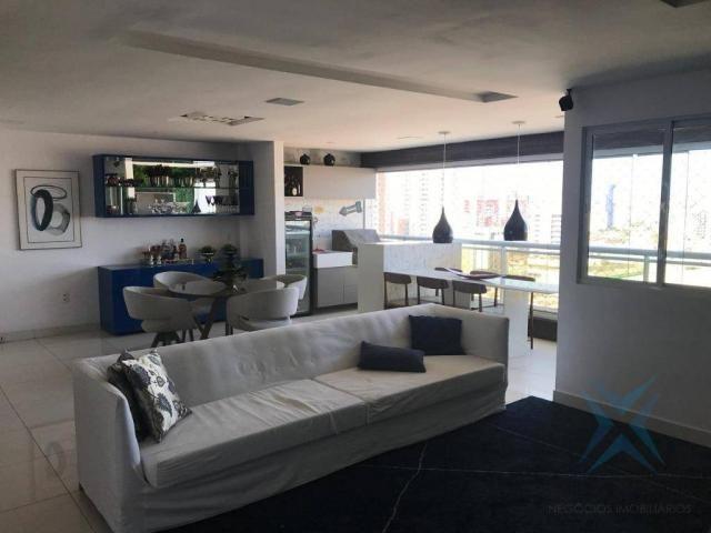 Apartamento com 3 dormitórios à venda, 152 m² por r$ 1.530.000 - aldeota - fortaleza/ce - Foto 3