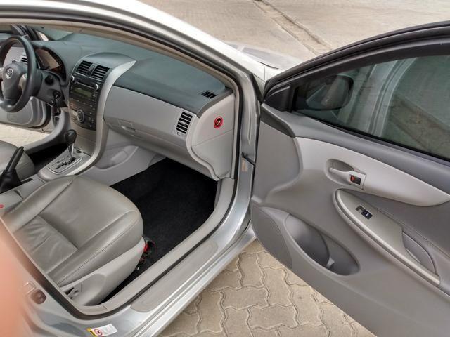 Toyota Corolla Xei 1.8 Automático 2009 Blindado - Foto 9