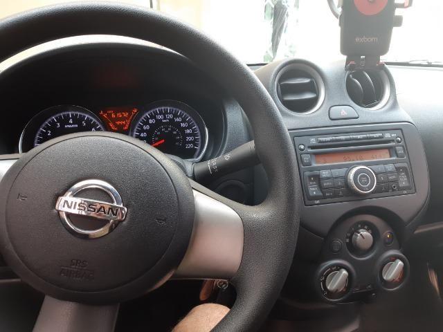 Nissan Versa SV 1.6 Flex Fuel 2014 - Foto 4