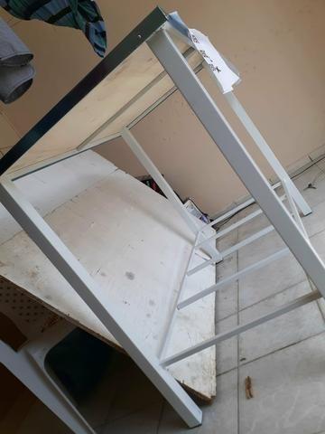 Mesa INOX 110x60 e 90 de altura! - Foto 3