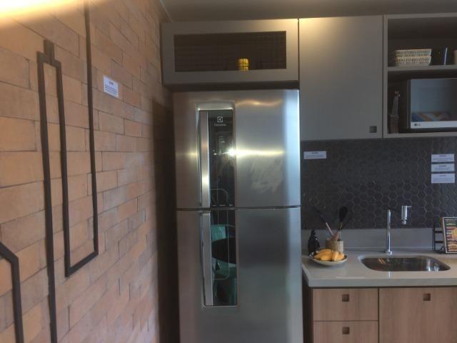 Apartamento sala e quarto varanda com infraestrutura - Foto 15