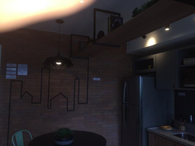 Apartamento sala e quarto varanda com infraestrutura - Foto 6