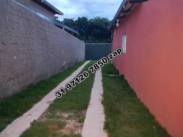 Urgente-Sítio Barato c/ Piscina-Casa Colonial Branca-3 qts-Pomar-Toda Murada-TOP - Foto 16