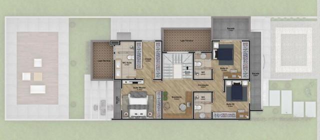 Excelente residência de alto padrão c/ 03 quartos no Villa Toscana !! - Foto 2