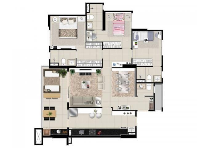 Apartamento à venda com 4 dormitórios em Duque de caxias ii, Cuiaba cod:19931 - Foto 14