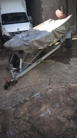 Canoa motor carreta capa - Foto 6