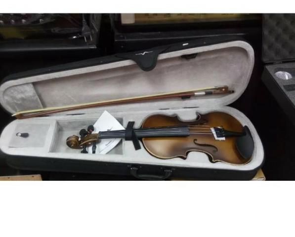 Violino Infantil 1/2 Vogga Kids C/ Case + Arco - Foto 3