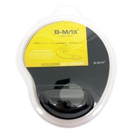 Mousepad Gel Bmax Apoio de Pulso em Gel Confortável Ergonômico - Loja Natan Abreu - Foto 2