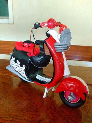 Bicicleta Barbie + Moto Monster Hugh - Mattel - Foto 6
