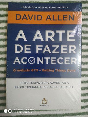 Livro NOVO/ LACRADO A arte de FAZER ACONTECER!