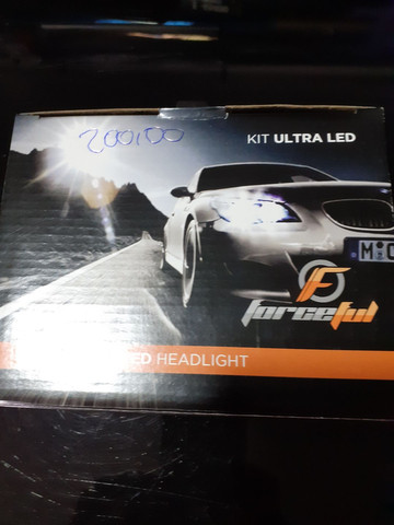Lâmpada ultra led h11 nova garantia instalado em seu carro