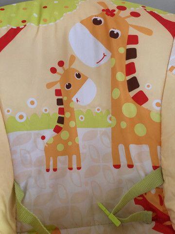 Cadeira de Descanso Mastela Musical e Vibratória Girafa - Foto 3