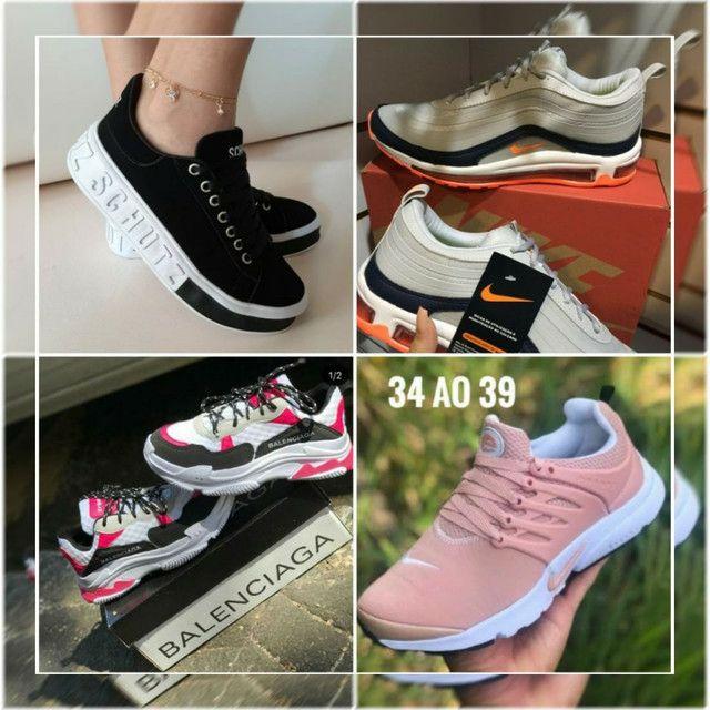 Mizunos, Nikes, Adidas e Diversos  - Foto 3