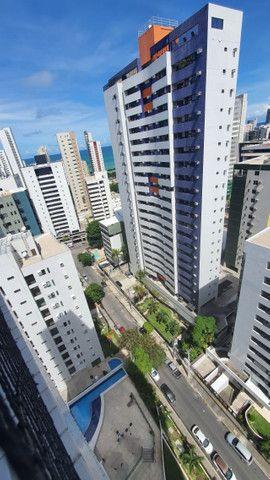 009L - Apartamento tipo flat para alugar, 1 quarto, Mobiliado, lazer, em Boa Viagem - Foto 12