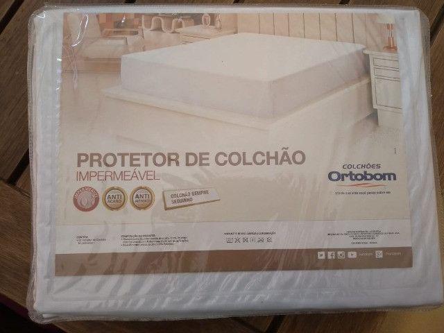 Protetor de colchão Ortobom solteiro