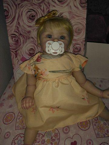 Vendo bebê reborn nova - Foto 2