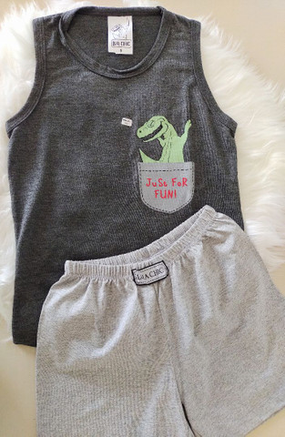 Pijama Infantil Dino - Foto 3