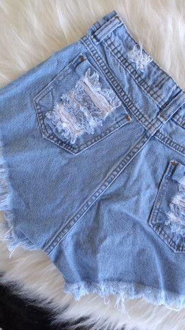 Short Jeans destroyed  - Foto 4