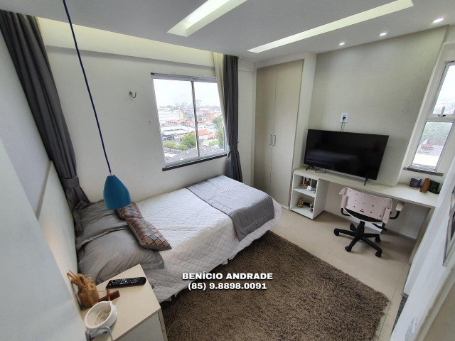 Apartamento bem localizado, todo projetado, nascente e com lazer completo! - Foto 10