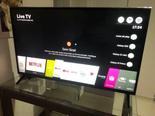 """Smart TV LG 50"""" inteligência artificial WebOS completa com nota fiscal  - Foto 5"""