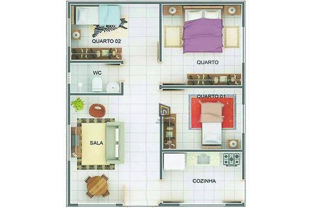 Casa com 3 dormitórios à venda, 110 m² por R$ 200.000 - Novo Mundo - Várzea Grande/MT # IS - Foto 11