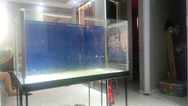 Aquario de 110 litros