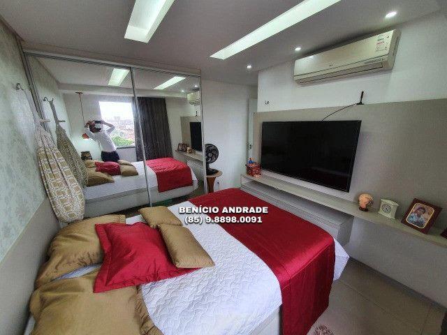 Apartamento bem localizado, todo projetado, nascente e com lazer completo! - Foto 8